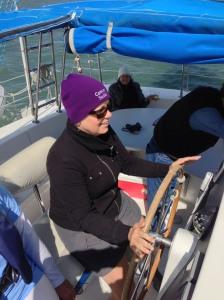 I'm sailing!